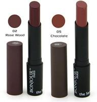 Bonjour Paris Color Cap Lipstick 02 05(Multicolor, 7 g)