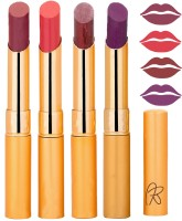Rythmx Imported Matte Lipstick Combo 46201619(16 g, Multicolor,) - Price 374 76 % Off