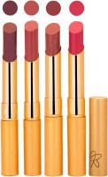 Rythmx Imported Matte Lipstick Combo (Slim 03-06)(16 g, Multicolor,) - Price 374 76 % Off