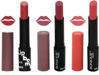 Bonjour Paris Super Matte Lipstick Combo 156(10.5 g, Multicolor,)