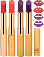 Rythmx Imported Matte Lipstick Combo 46201628(16 g, Multicolor,) - Price 374 76 % Off