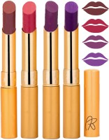 Rythmx Imported Matte Lipstick Combo 46201632(16 g, Multicolor,) - Price 374 76 % Off