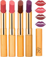 Rythmx Imported Matte Lipstick Combo 46201606(16 g, Multicolor,) - Price 374 76 % Off