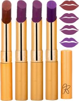 Rythmx Imported Matte Lipstick Combo 46201637(16 g, Multicolor,) - Price 374 76 % Off