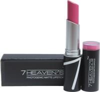 7 Heaven's PhotoGenic Matte Lipstick(3.8, Baby Pink)