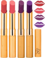 Rythmx Imported Matte Lipstick Combo 46201608(16 g, Multicolor,) - Price 374 76 % Off