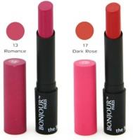 Bonjour Paris Color Cap Lipstick(Brown, Pink, 8.4 g)