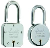 Link Atoot 60 & Round 65 Padlock(Silver)