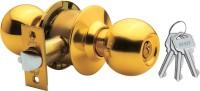 Godrej Cylindrical - Brass Finish - Premium Lock(Gold)