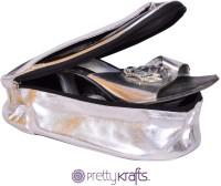 Pretty Krafts B1100_Black B1100 Luggage Cover(28x12x9, Black)