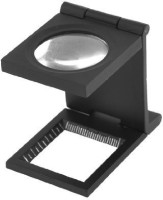 Pia International Loupe With Scale 10X Magnifying Glass(Black)