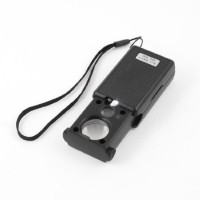 Pia International Loupe 30X & 60X Magnifying Glass(Black)