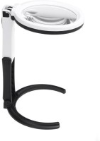 Star Magic Ac/Dc 2X 5X Magnifying Glass(White)