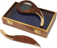 Store Indya Magnifier 3.5X Magnifying Glass(Brown)