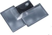 ElderEase Fresnel Lens 3x Credit Card Sized Magnifier(Transparent)