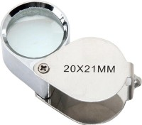 Star Magic Loupe 20X Magnifying Glass(Silver)