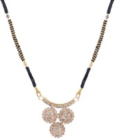 Weldecor Raindrop Love Forever Alloy Mangalsutra