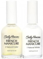 Sally Hansen French Manicure Kit - Nearly Nude(13.3 ml, Set of 2)