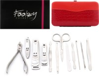 Foolzy 13 In 1 Stainless Pedicure Manicure Set Kit With Nail Clipper(250 g, Set of 12)