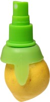 Curie Curie Plastic Lemon Spray Plastic Masher(Green, Pack of 1)