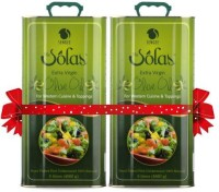 Solas Extra Virgin Olive Oil - 5 Ltrs (Pack of 2)(10 L)