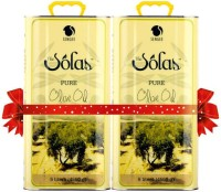 The Solas Pure Olive Oil - 5ltr (Pack of 2)(10 L)