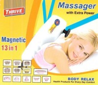 Thrive BRM13 Body Relax Magnetic 13 in 1 Massager(Beige)