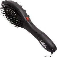 ACM 864665496 Acupressure Vibrating Hair Brush For Stress Relief Massager(Black) - Price 145 53 % Off