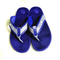 Lavelle Pharma UK Size 6.5 Acupressure Slippers Massager(Blue)