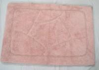 Little Home Cotton Door Mat(Pink-04, Medium)