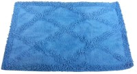 Kaksh Cotton Door Mat(Blue, Large)