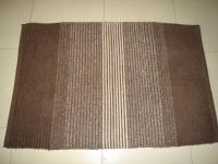 LITTLE HOME Cotton Door Mat(Brown, Medium)