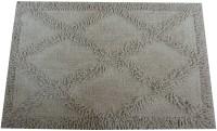 Kaksh Cotton Door Mat(White, Large)