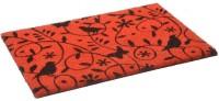 Matzone Coir Door Mat(Red, Small)
