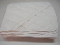 Sleepinns Elastic Strap Single Size Mattress Protector(White)