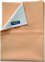 Eazi Fleece Baby Bed Protecting Mat(Peach, Medium)
