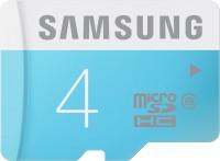 SAMSUNG 4 GB MicroSDHC Class 6 24 MB/s  Memory Card