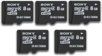 SONY 8 GB MicroSD Card Class 4  Memory Card