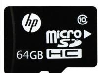 HP micro 64 GB MicroSD Card Class 10 90 MB/s  Memory Card