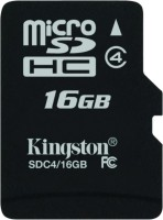 Kingston 16 GB MicroSD Card Class 4 4 MB/s  Memory Card