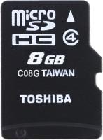 Toshiba 8 GB MicroSD Card Class 4 15 MB/s  Memory Card