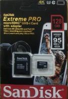SanDisk UH-1 128 GB MicroSD Card Class 10 95 MB/s  Memory Card