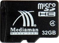 Mediaman 32 GB MicroSD Card Class 4  Memory Card