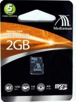 Mediaman 2 GB MicroSD Card Class 4  Memory Card