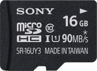 Sony 16 GB MicroSDHC Class 10 90 MB/s Memory Card(With Adapter)