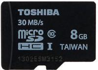Toshiba 8 GB MicroSDHC Class 10  Memory Card