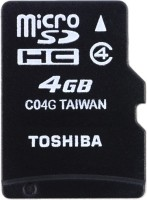 TOSHIBA Ultra 4 GB MicroSDHC Class 4 15 MB/s  Memory Card