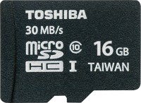 Toshiba 16 GB MicroSDHC Class 10 30 MB/s  Memory Card