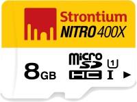 Strontium Nitro 8 GB MicroSD Card Class 10 60 MB/s  Memory Card