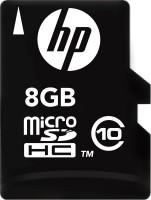 HP 8 GB MicroSDHC Class 10 4 MB/s Memory Card